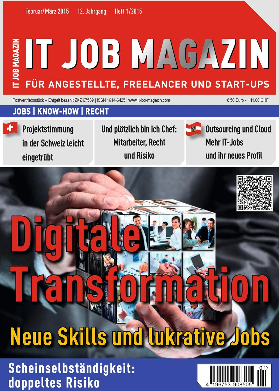 67539 ISSN 1614-6425 www.it-job-magazin.