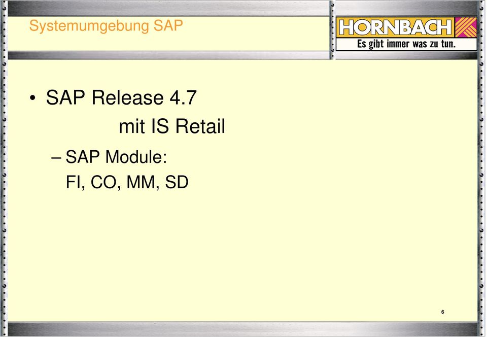 7 mit IS Retail SAP