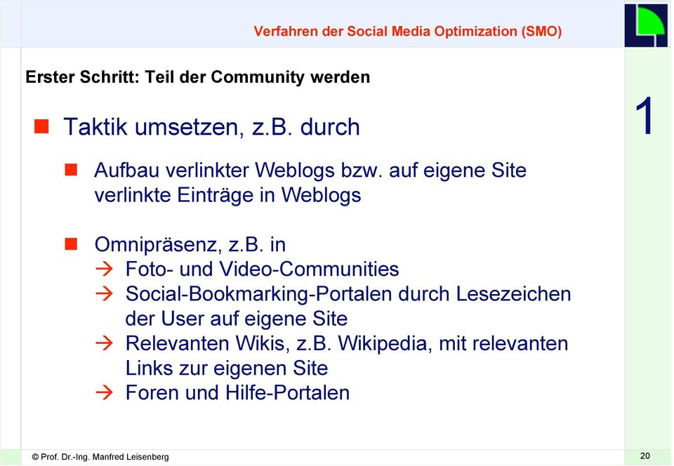u verlinkter Webl
