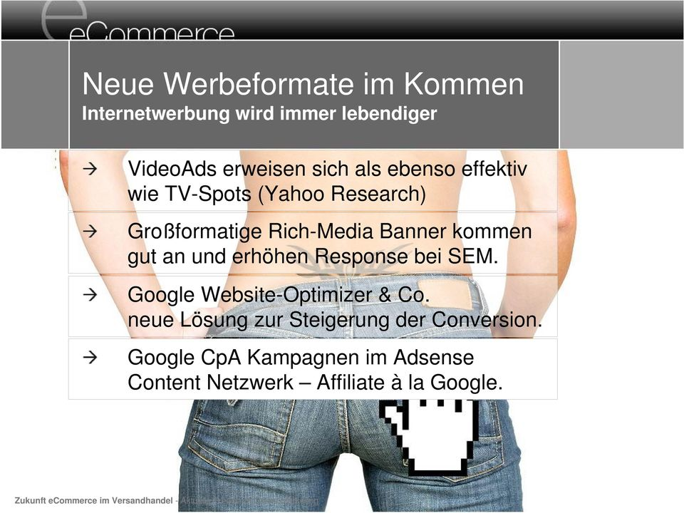 Google Website-Optimizer & Co. neue Lösung zur Steigerung der Conversion.