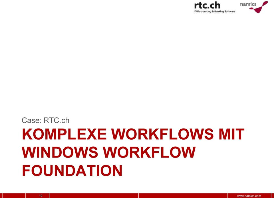 WORKFLOWS MIT