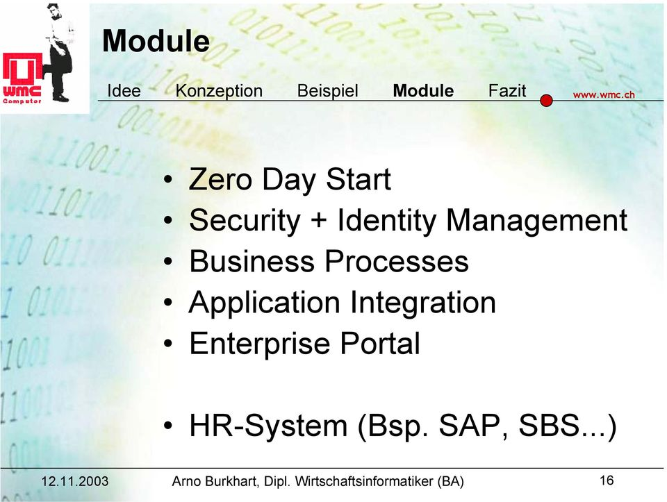 Business Processes Application Integration
