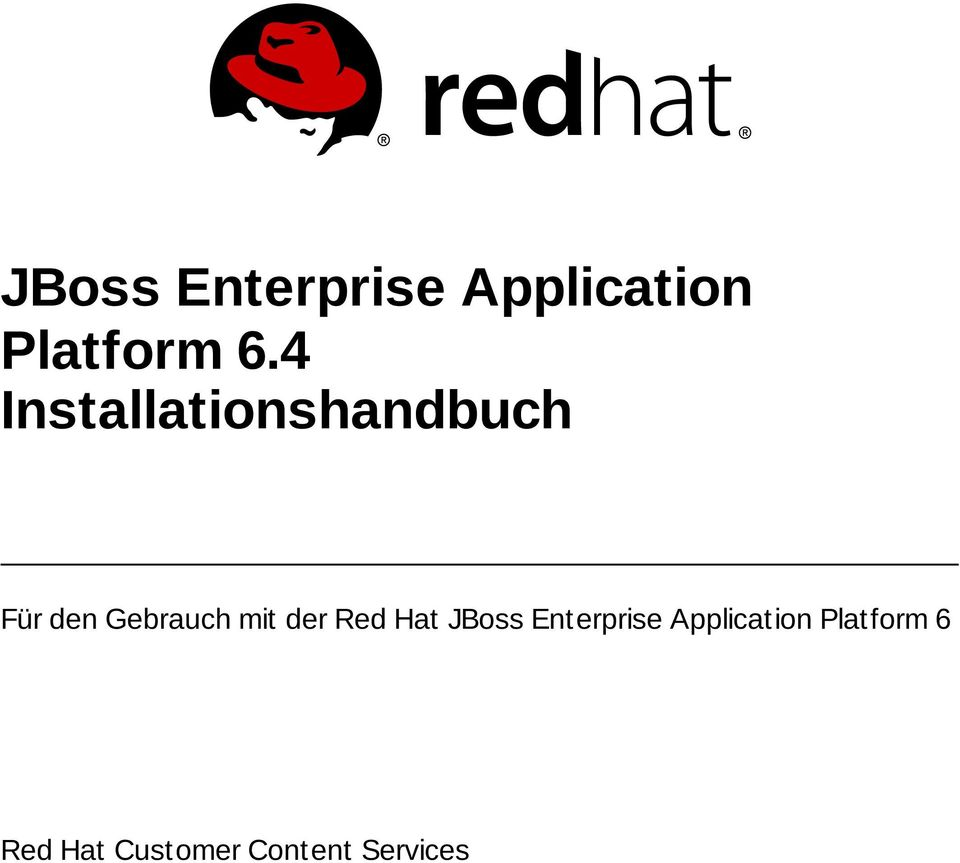 mit der Red Hat JBoss Enterprise