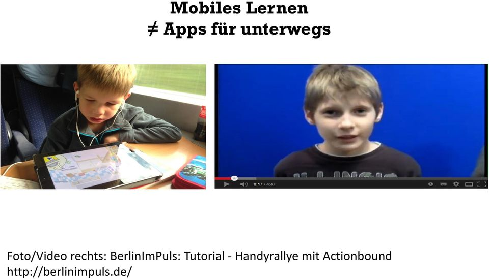 BerlinImPuls: Tutorial -