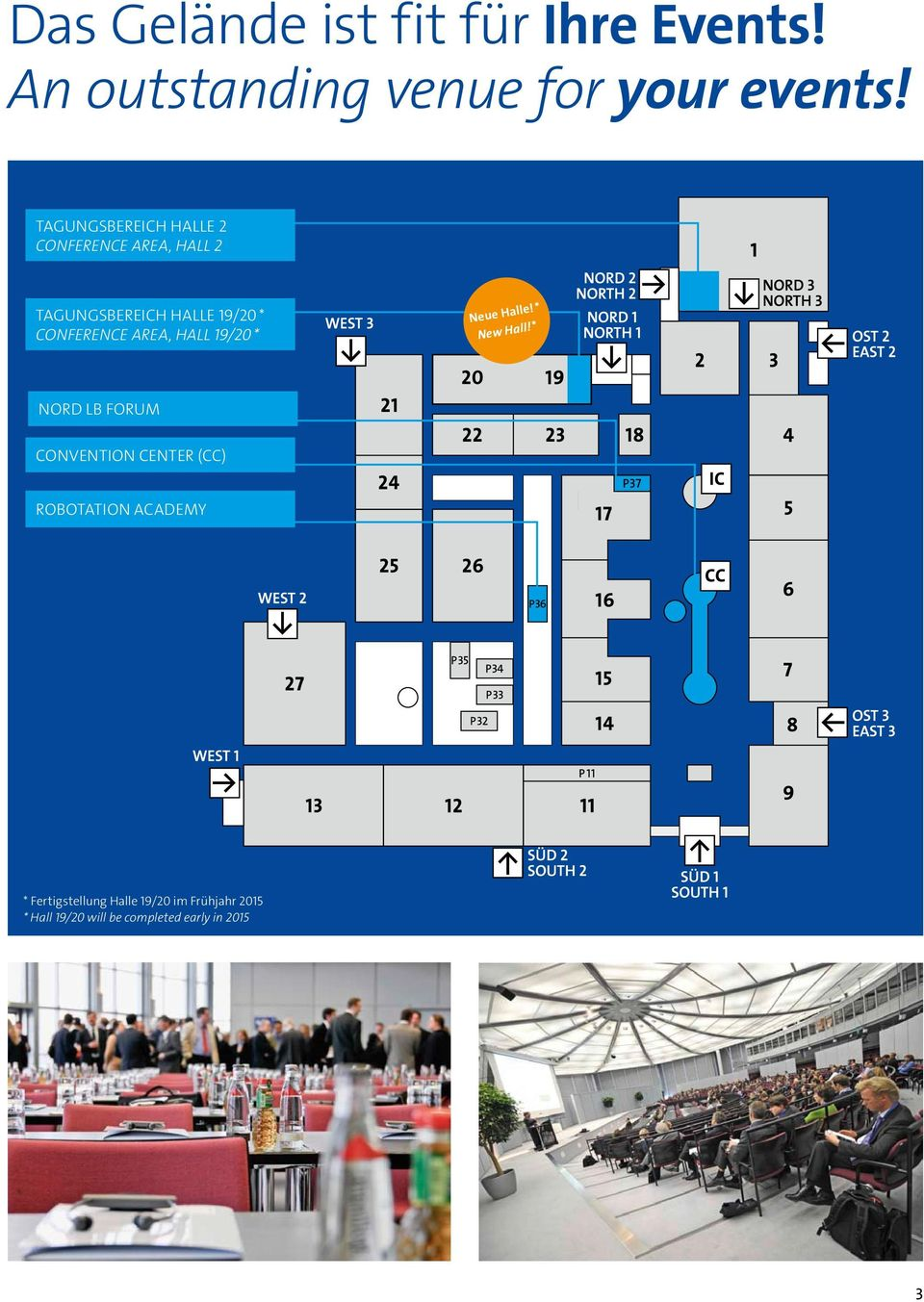 Area, Hall 19/20 * Neue Halle! * New Hall!