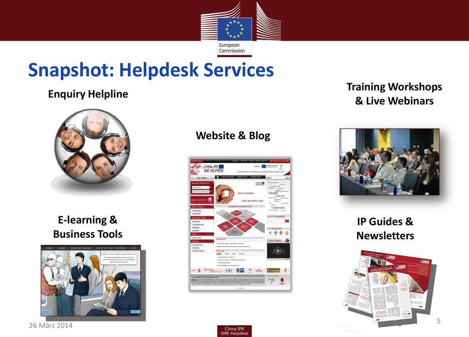 Webinars Website & Blog E-learning &