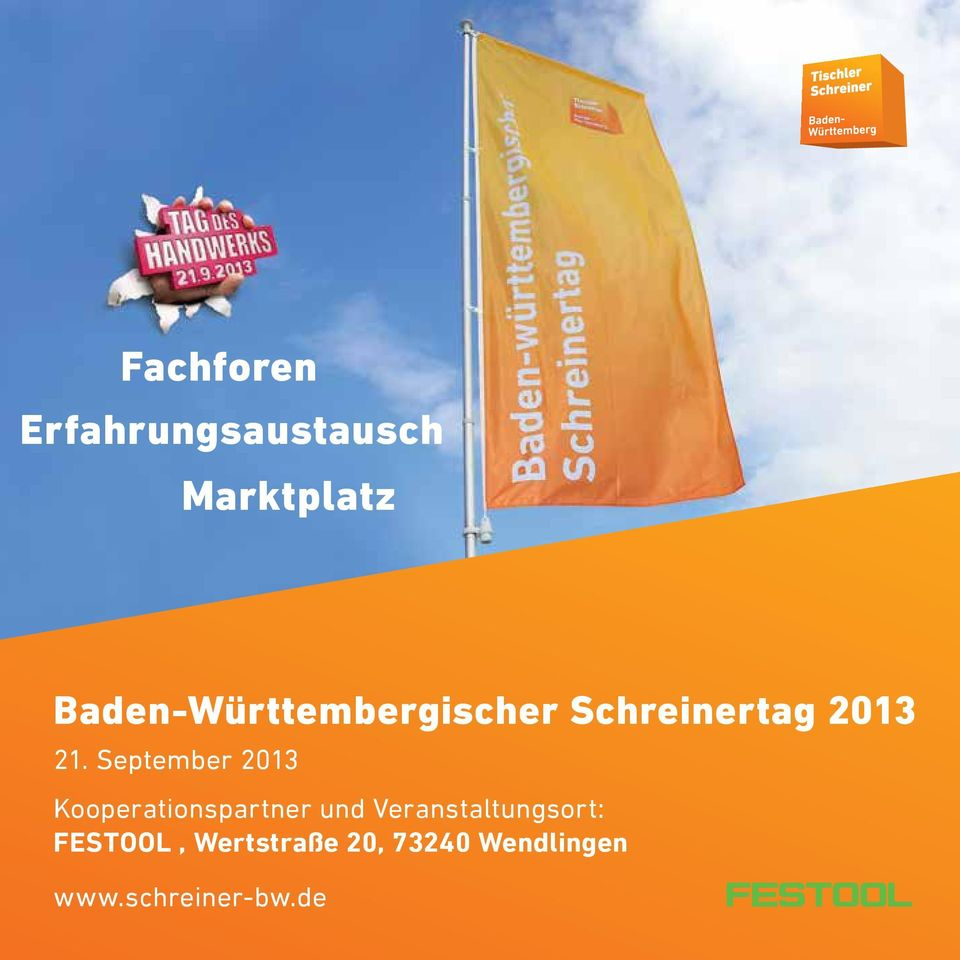 September 2013 Kooperationspartner und