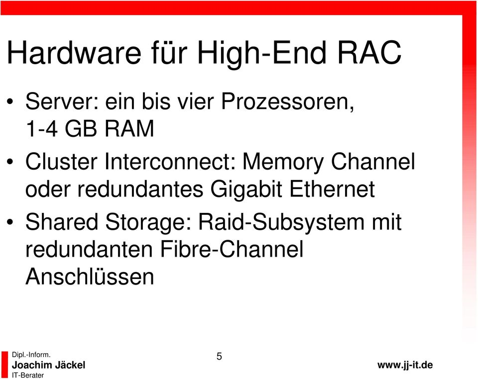 Channel oder redundantes Gigabit Ethernet Shared