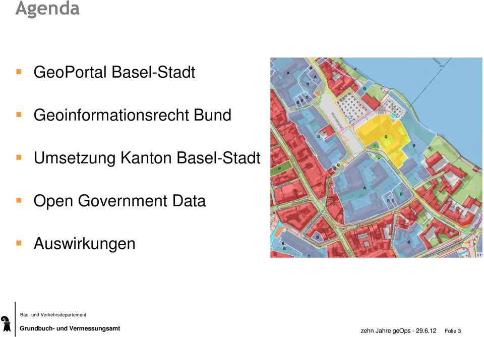Kanton Basel-Stadt Open Government