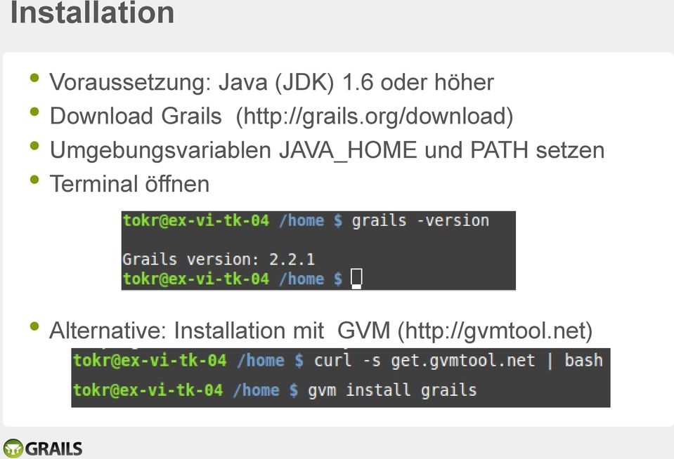 org/download) Umgebungsvariablen JAVA_HOME und PATH