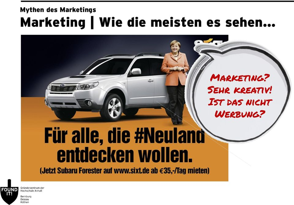 es sehen Marketing?