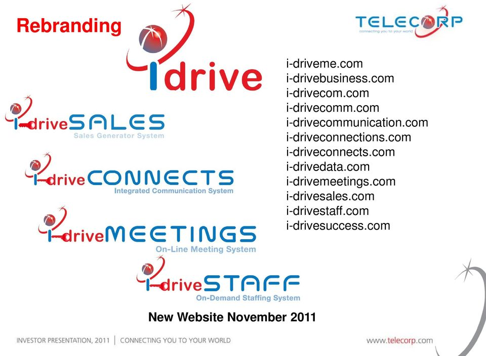 com i-driveconnects.com i-drivedata.com i-drivemeetings.