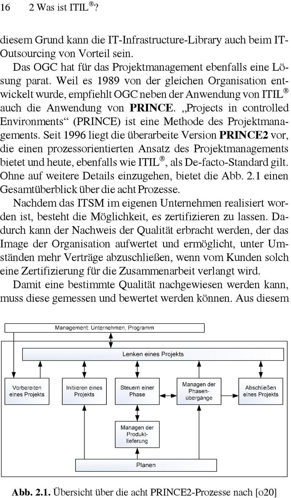 Projects in controlled Environments (PRINCE) ist eine Methode des Projektmanagements.