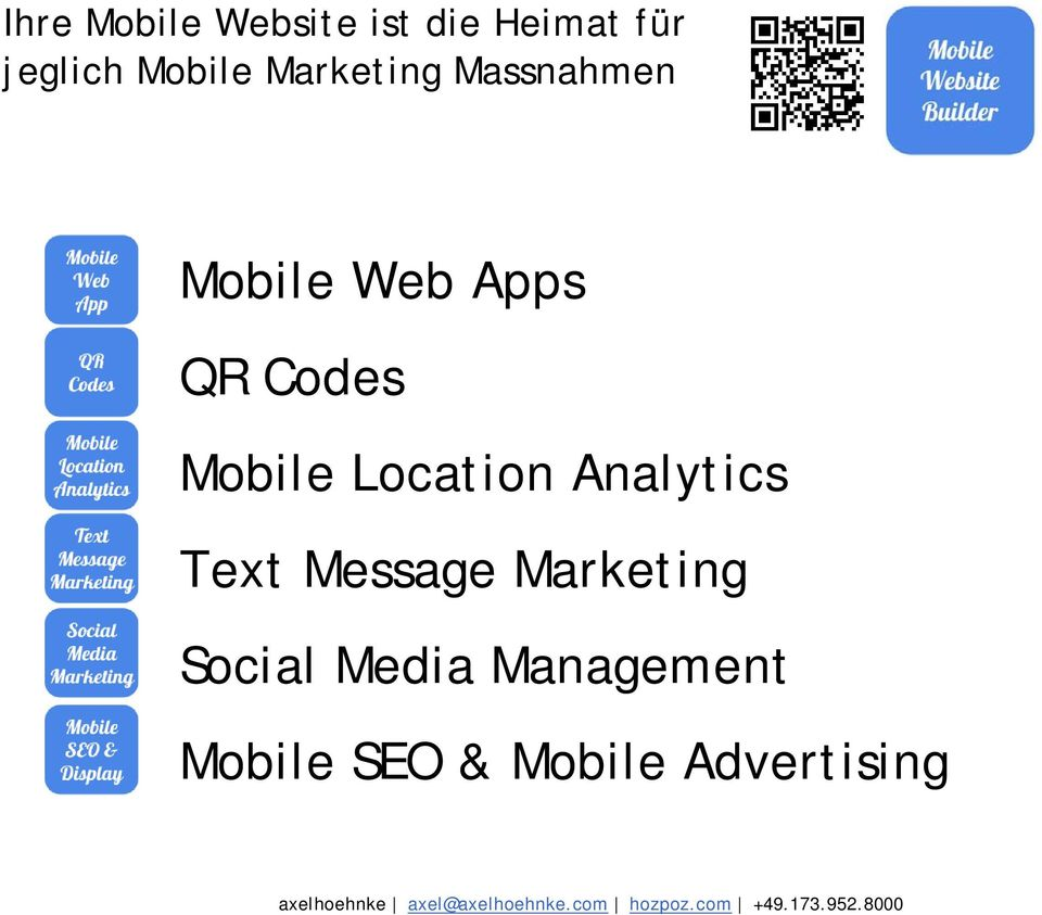 Message Marketing Social Media Management Mobile SEO & Mobile