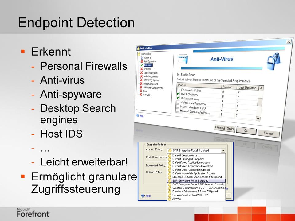 Desktop Search engines - Host IDS - -