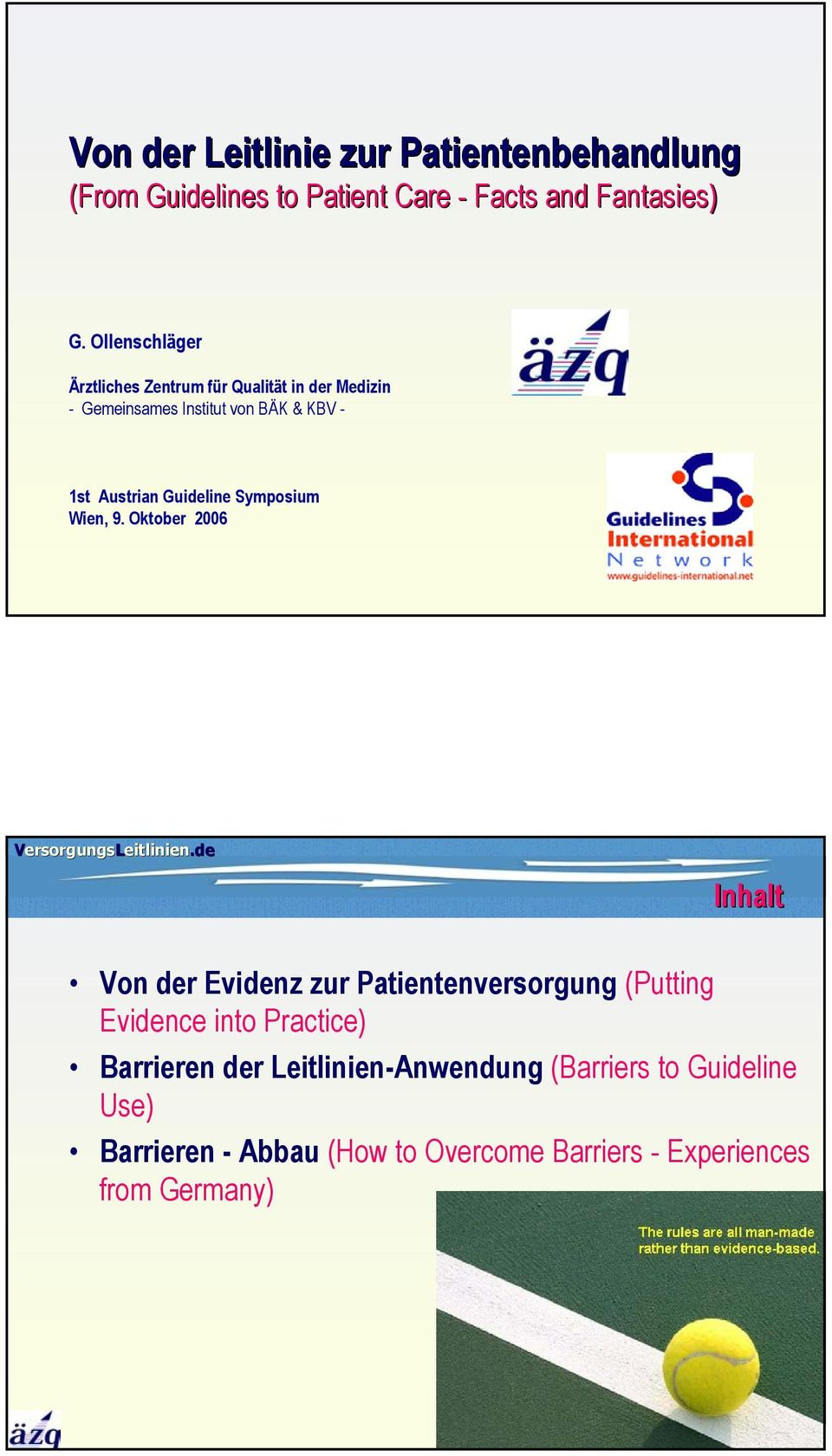 Guideline Symposium Wien, 9.