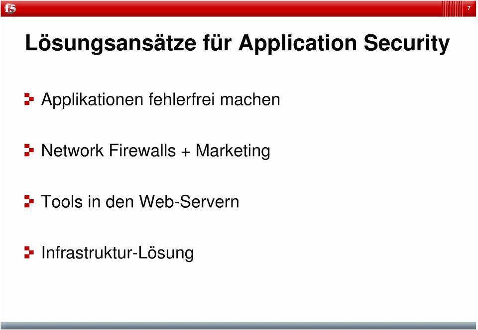 machen Network Firewalls + Marketing
