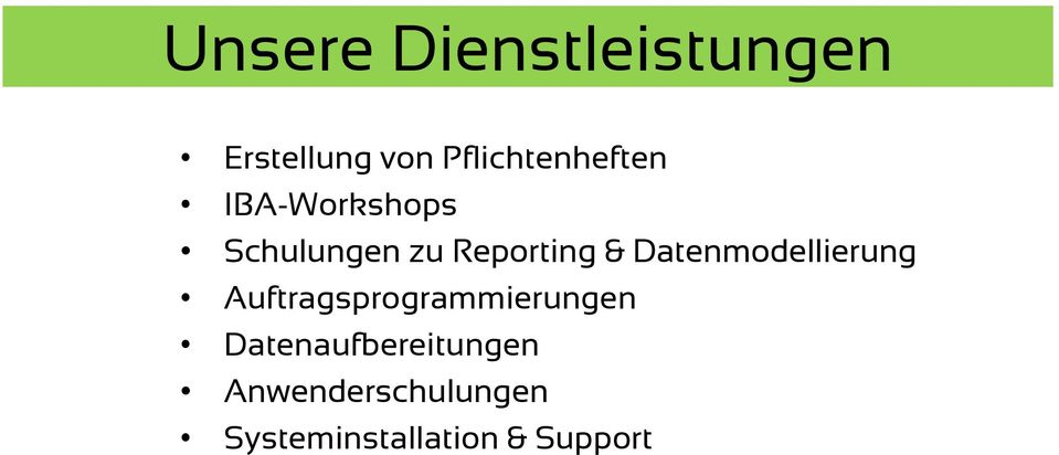 Reporting & Datenmodellierung
