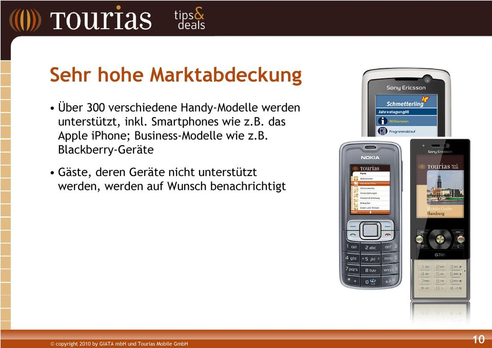 das Apple iphone; Business-Modelle wie z.b.