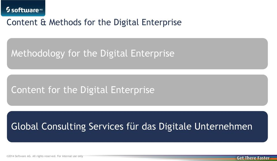 Enterprise Content for the Digital