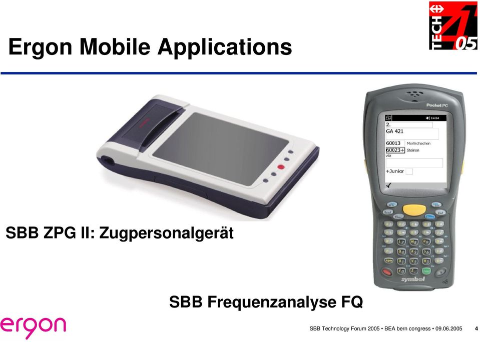 Frequenzanalyse FQ SBB Technology