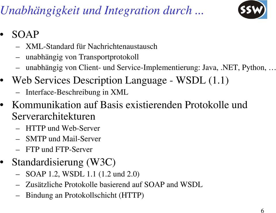NET, Python, Web Services Description Language - WSDL (1.