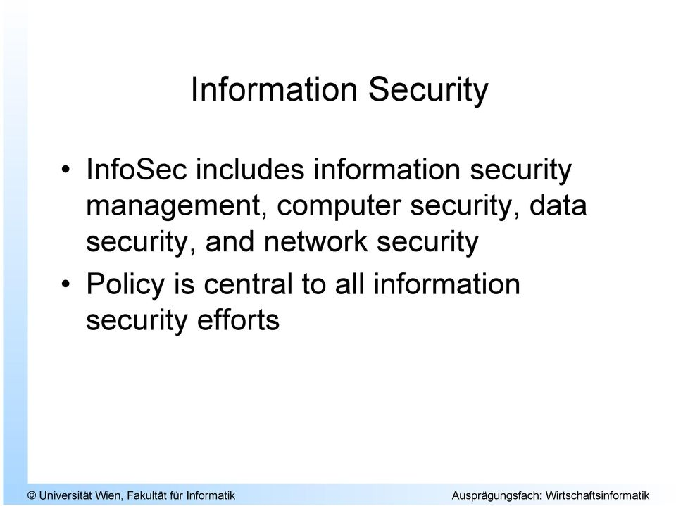security, data security, and network