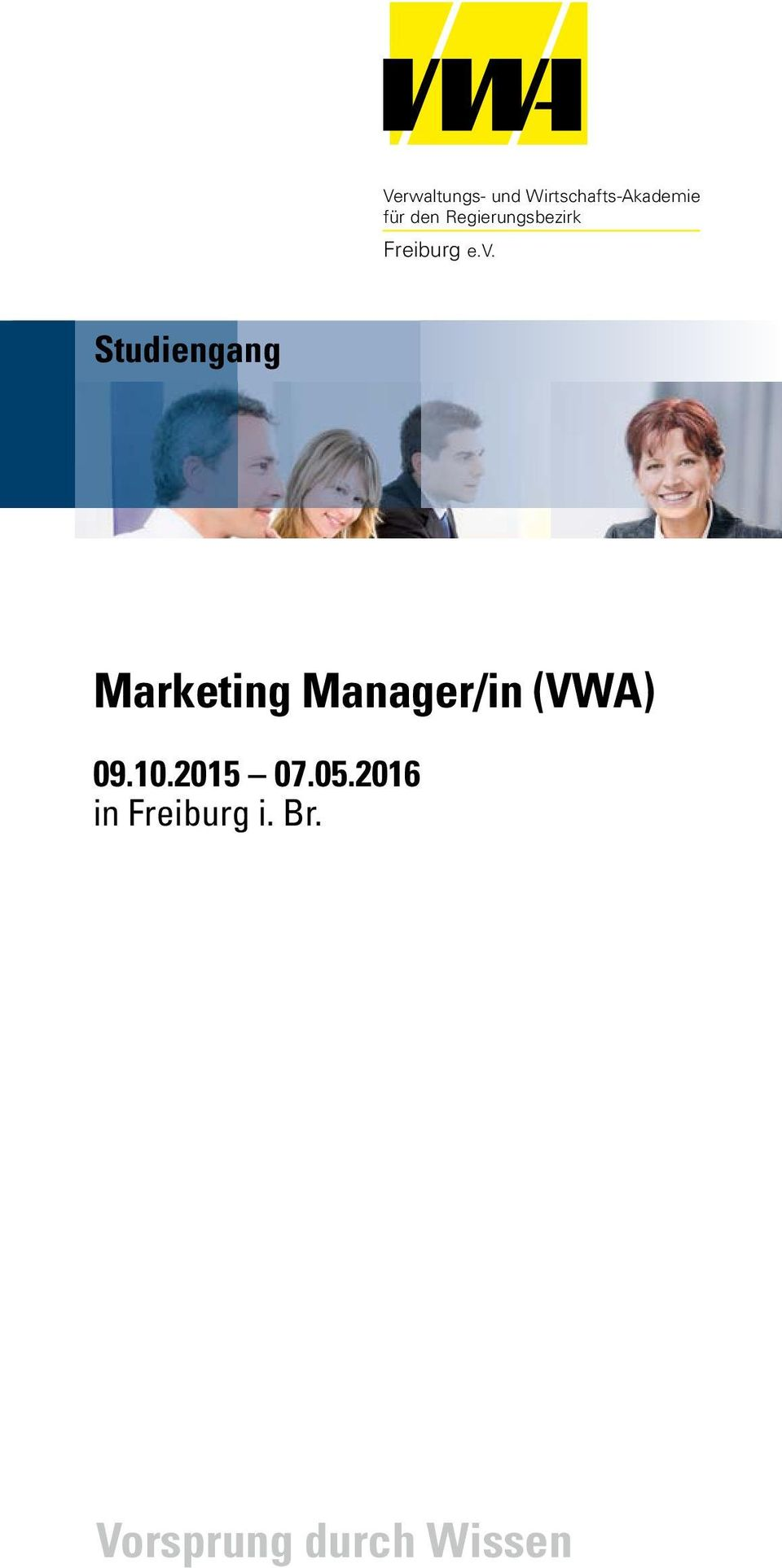Marketing Manager/in (VWA) 09.10.