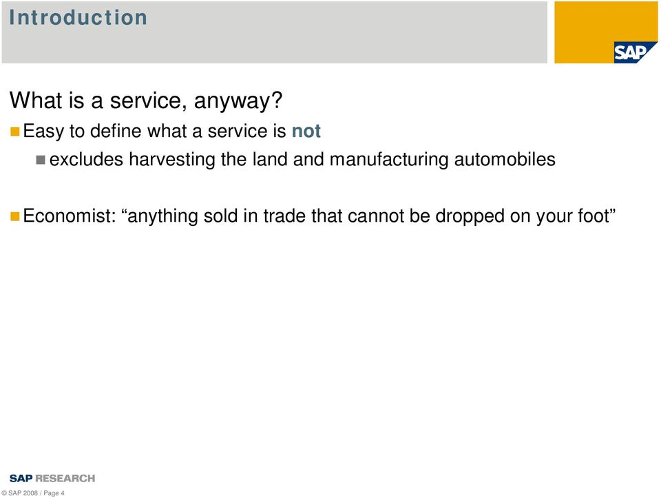 harvesting the land and manufacturing automobiles