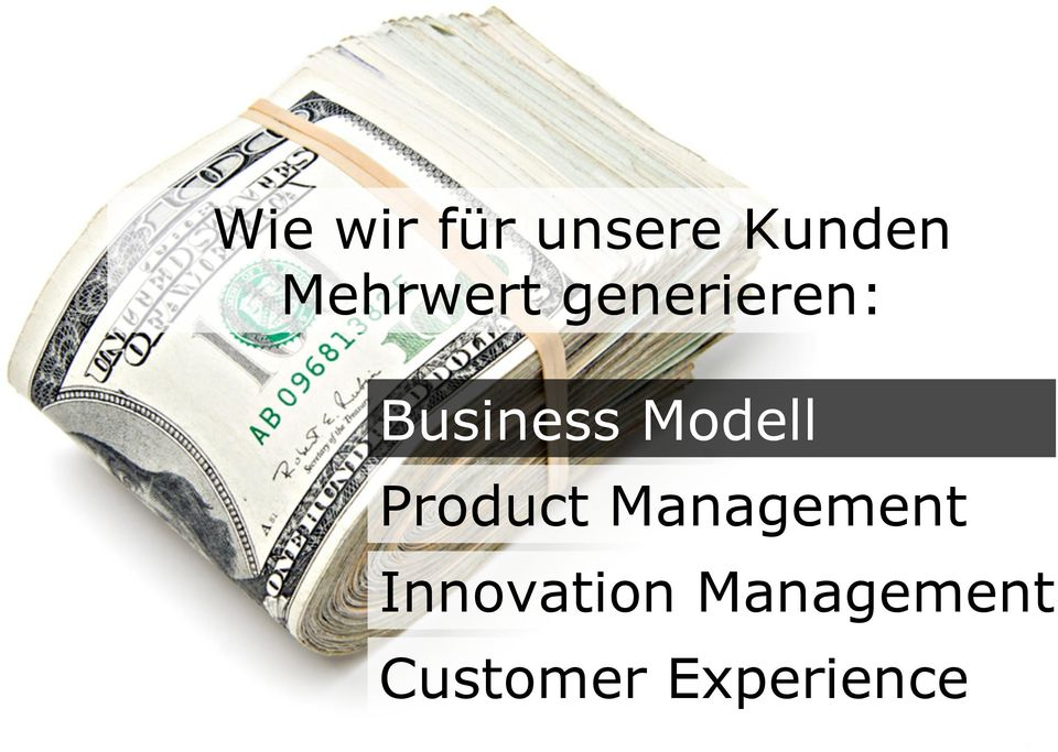 Modell Product Management