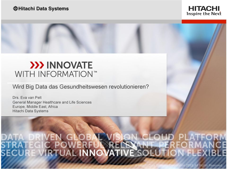 Sciences Europe, Middle East, Africa Hitachi Data