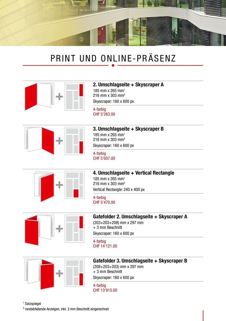 Umschlagseite Vertical Rectangle Vertical Rectangle: 240 x 400 px CHF 5 470.00 Gatefolder 2.