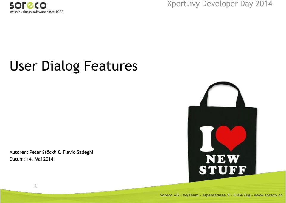 Dialog Features Autoren: