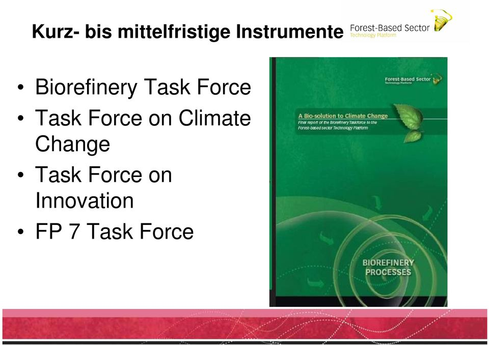 Force Task Force on Climate