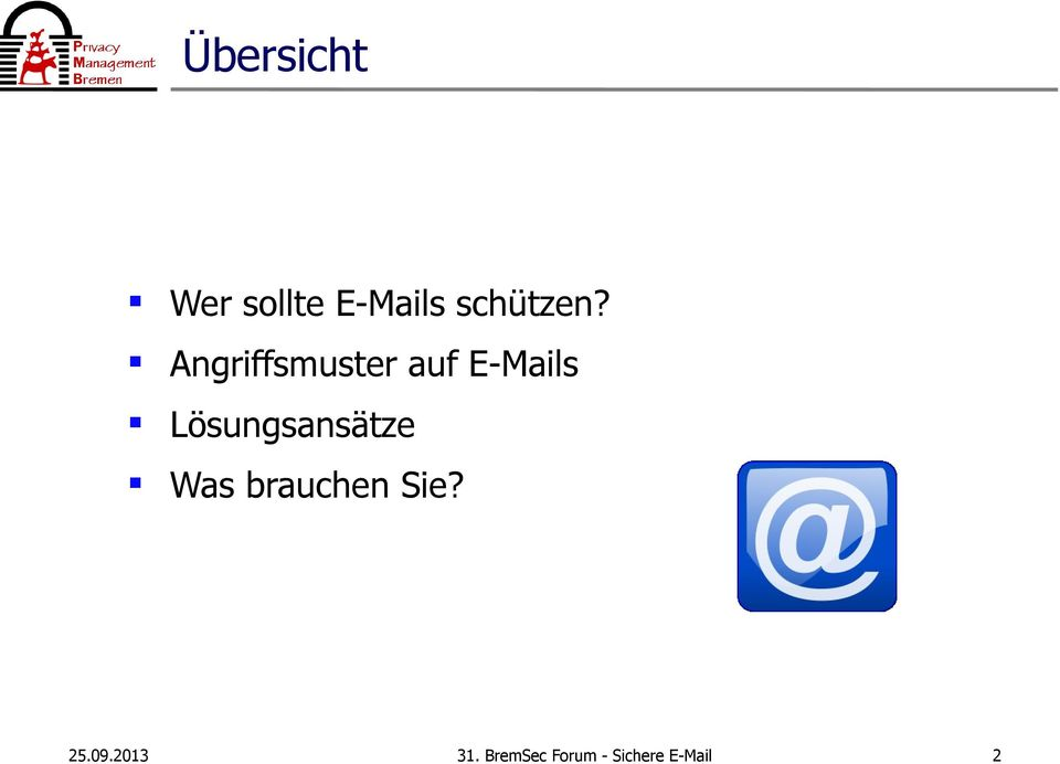 Angriffsmuster auf E-Mails