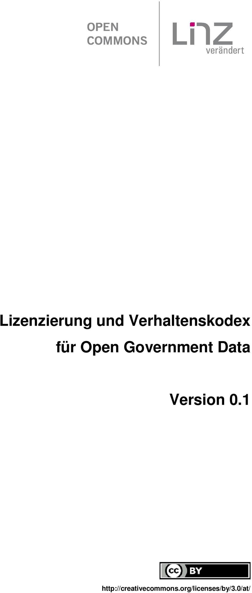 Government Data Version 0.