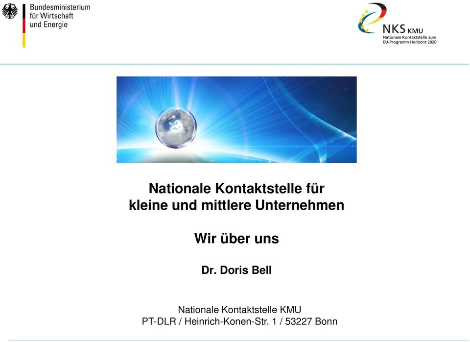 Doris Bell Nationale Kontaktstelle KMU