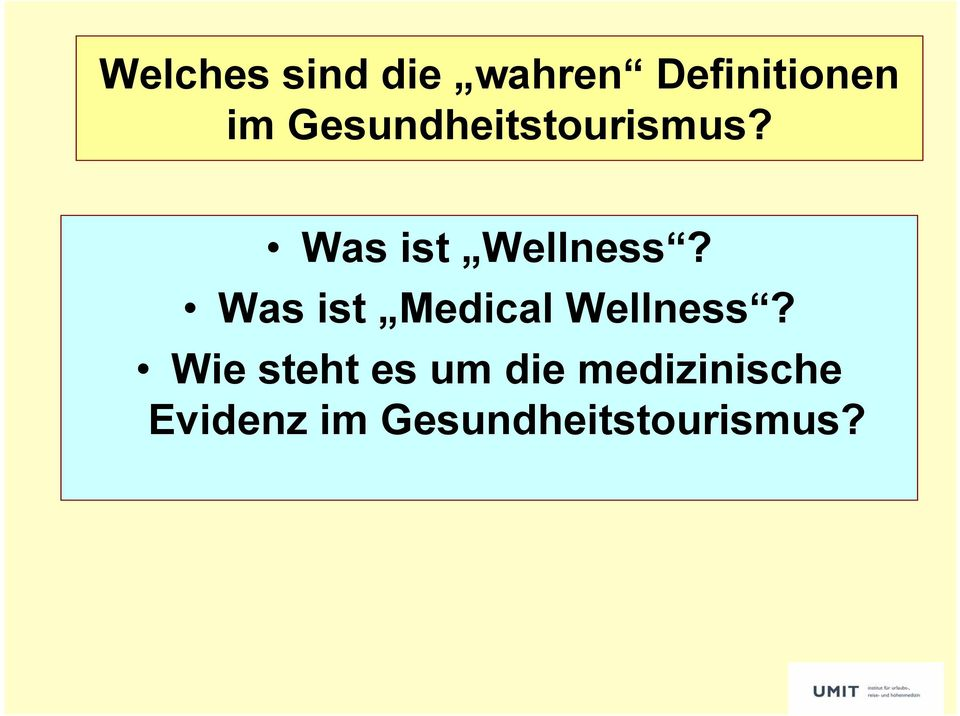 Was ist Medical Wellness?