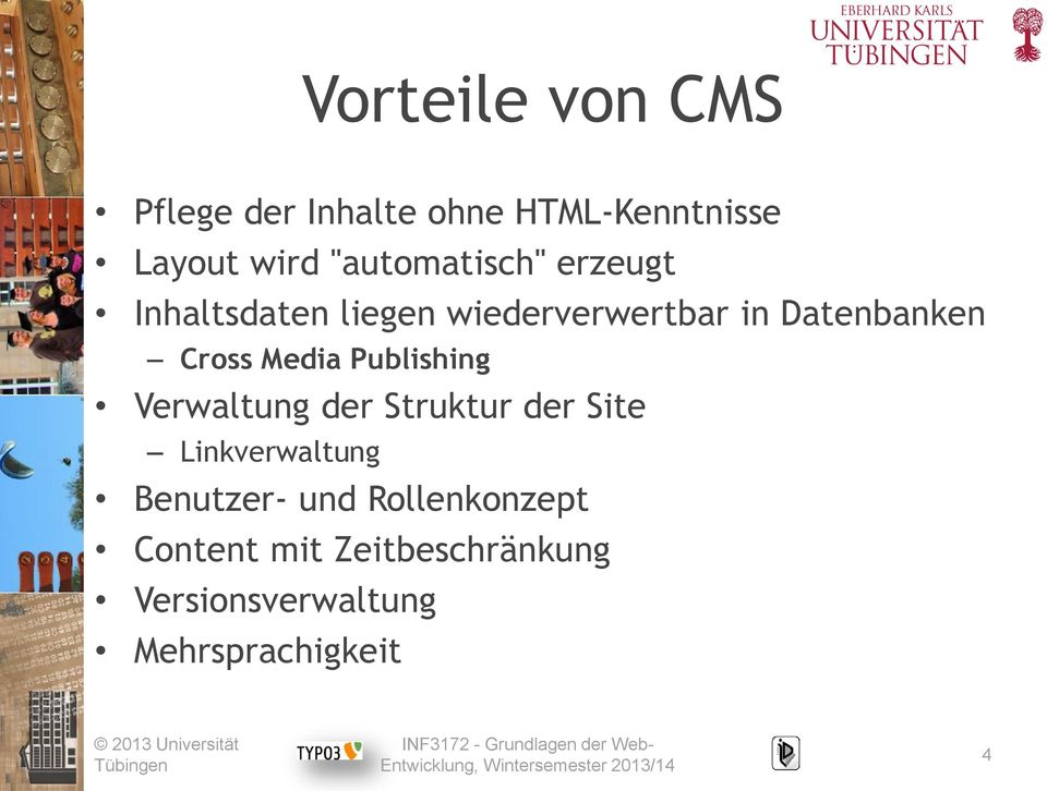 Cross Media Publishing Verwaltung der Struktur der Site Linkverwaltung