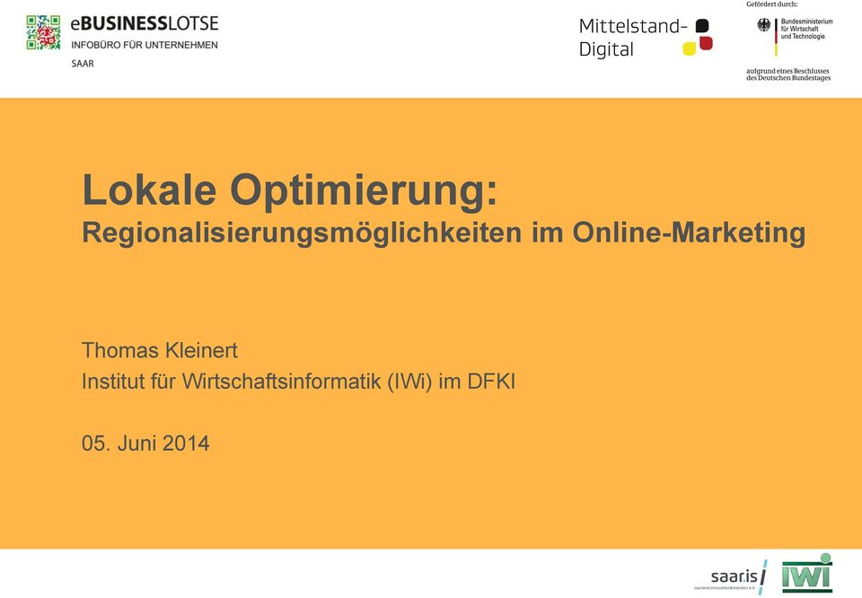 Online-Marketing Thomas Kleinert