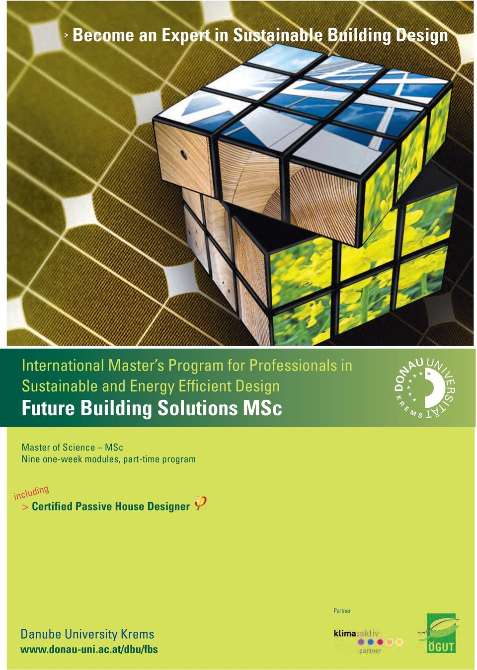 MSc Master of Science MSc Nine one-week modules, part-time program including >