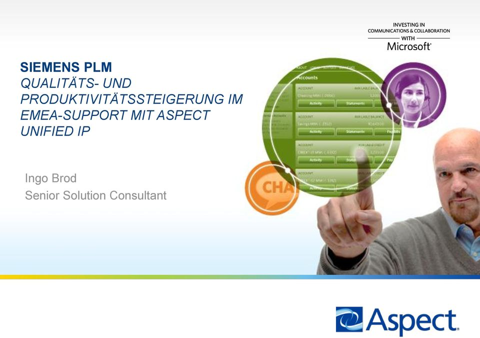 EMEA-SUPPORT MIT ASPECT UNIFIED