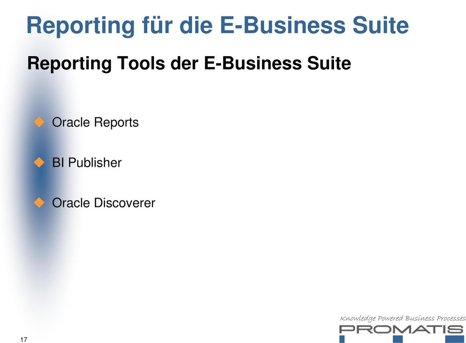 E-Business Suite Oracle