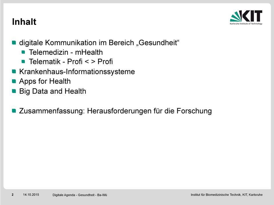Krankenhaus-Informationssysteme Apps for Health Big