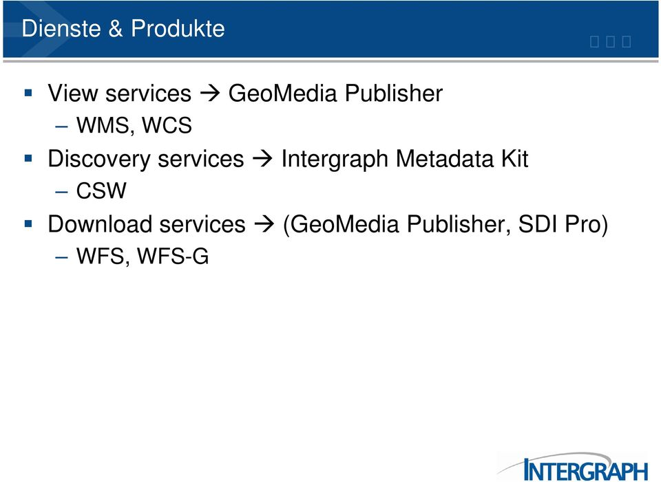 Intergraph Metadata Kit CSW Download
