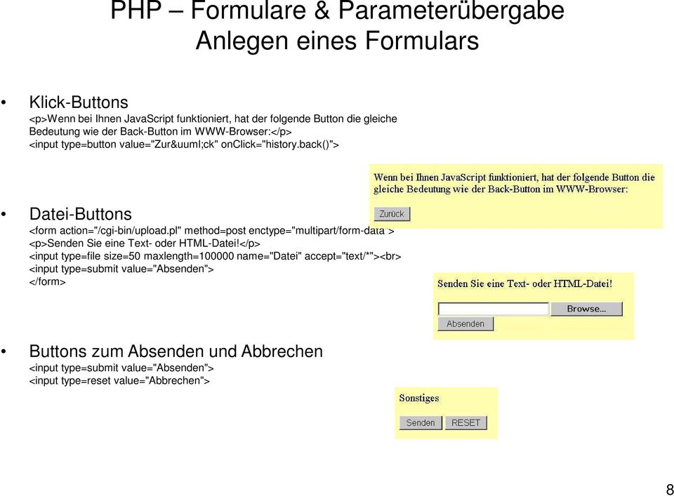 "pl"" method=post enctype=""multipart/form-data""> <p>senden Sie eine Text- oder HTML-Datei!"