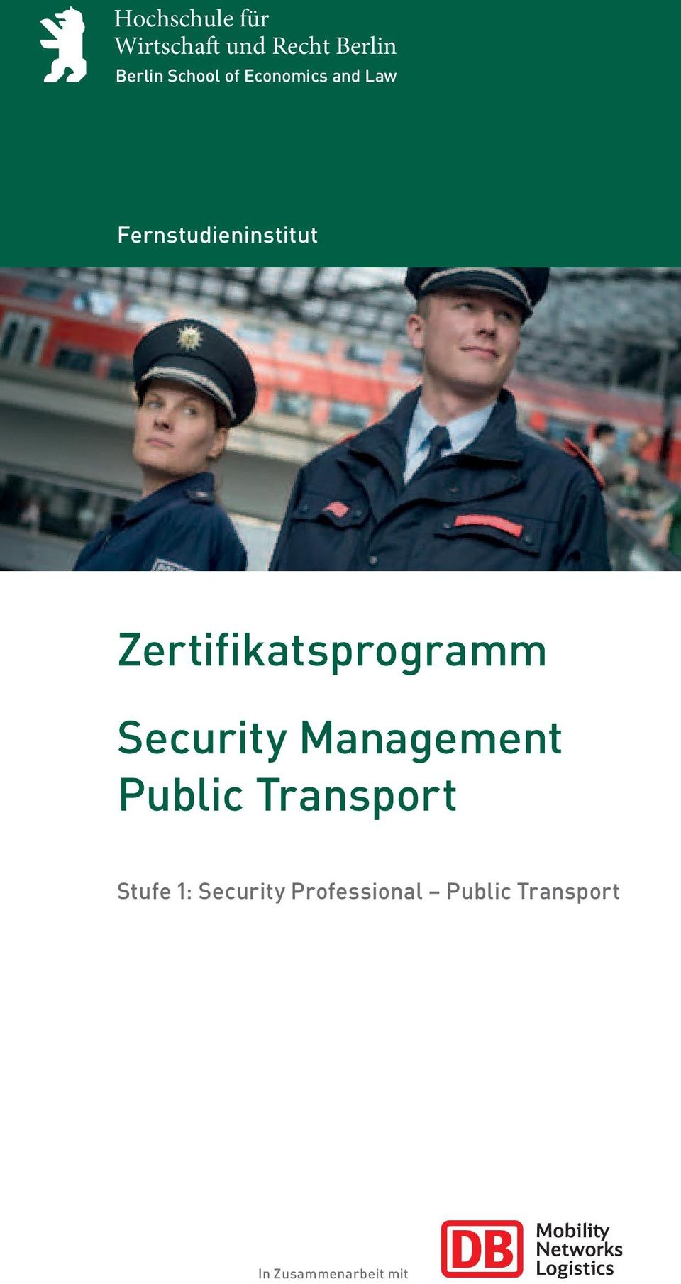Zertifikatsprogramm Security Management Public