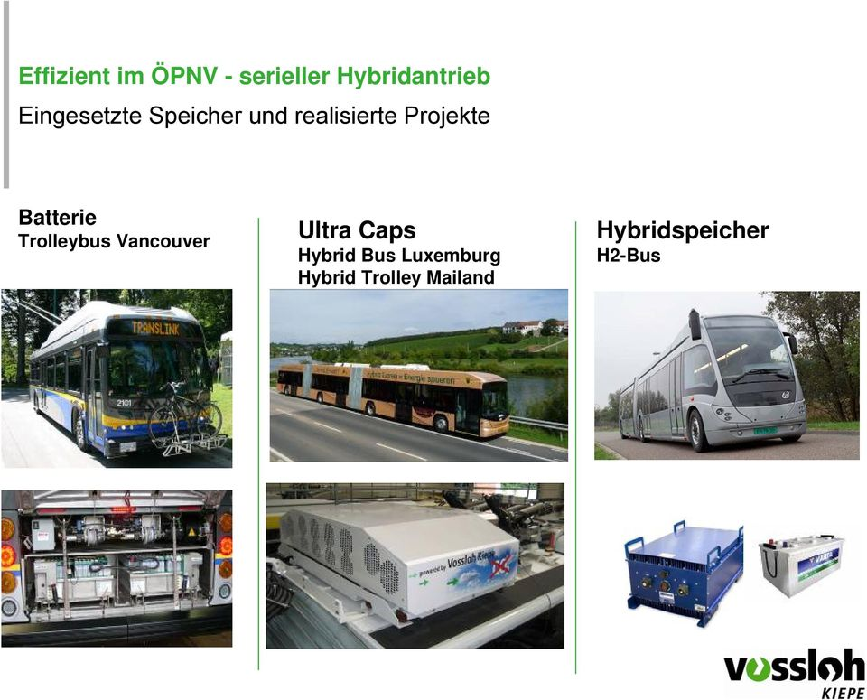 Vancouver Ultra Caps Hybrid Bus