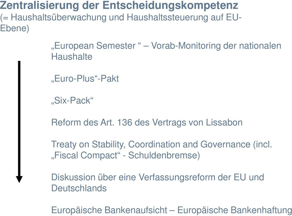 136 des Vertrags von Lissabon Treaty on Stability, Coordination and Governance (incl.