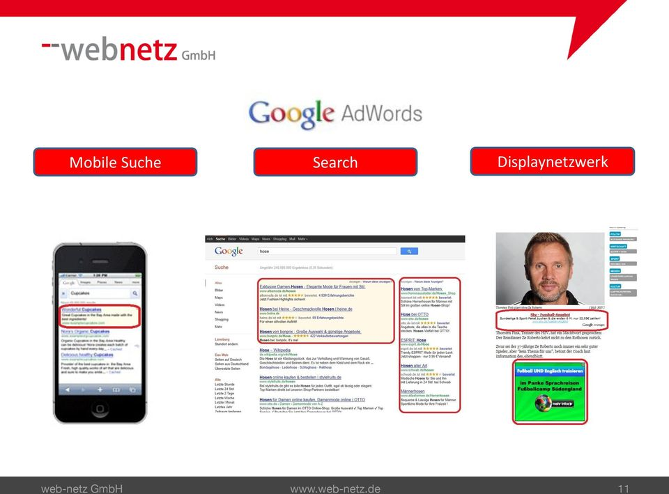 Mobile Suche Search